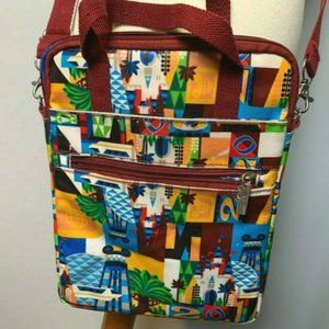 😊 Disneyworld Crossbody Bag Purse Colorful